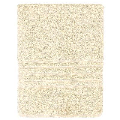 Toalha de Banho Maxy Fio Penteado - Amarelo Claro - Karsten
