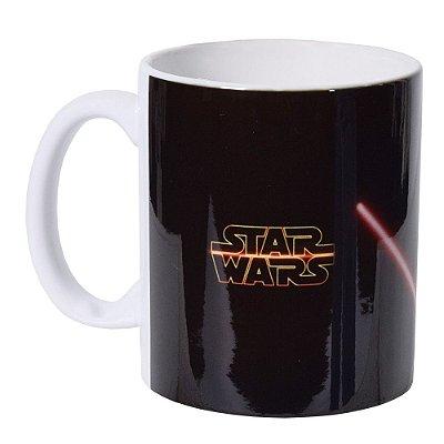Caneca de Cerâmica - Sabre de Luz Star Wars - Vikos