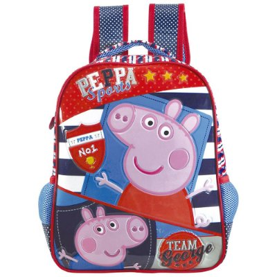 Mochila Infantil Peppa Sports - Peppa Pig - Xeryus