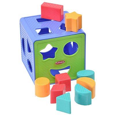 Cubo Encaixa com Formas Playskool - Hasbro