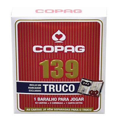Baralho 139 Truco - Vermelho - Copag