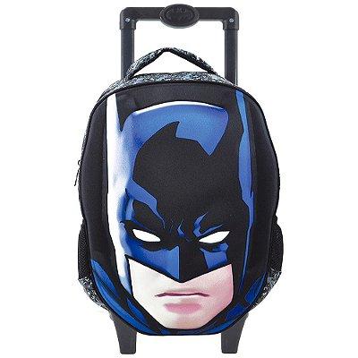 """Mochila de Carrinho Batman Glare 3D 16"""" - Xeryus"""