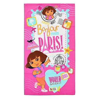 Toalha de Banho Velour - Dora em Paris - Döhler