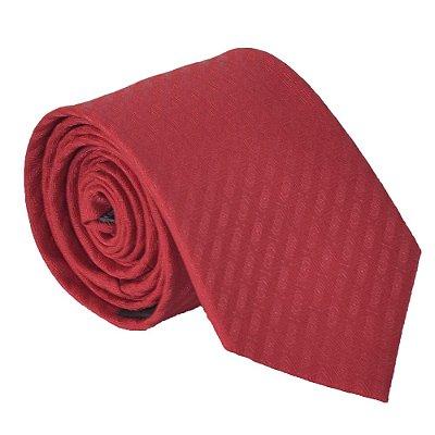 Gravata Tradicional Pierre Cardin - Vermelho