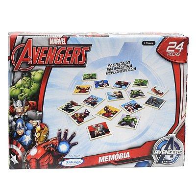 Jogo da Memória Avengers Assemble - Xalingo
