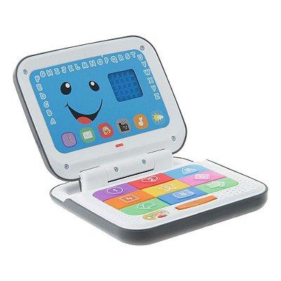 Laptop - Aprender e Brincar Cinza - Fisher Price