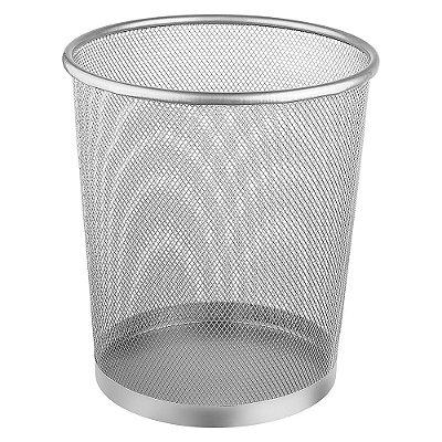 Lixeira em Metal Prata - 13 litros