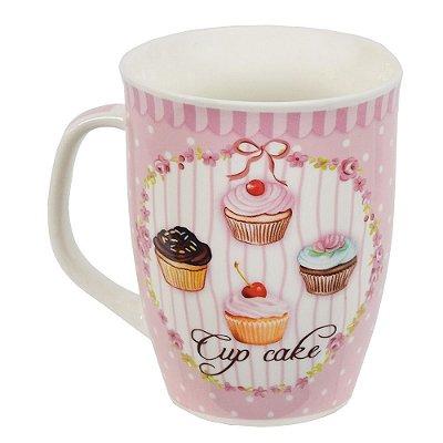 Caneca Cupcake com Lata - 340ml