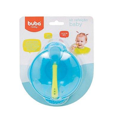Kit Refeição Baby - Azul - Buba