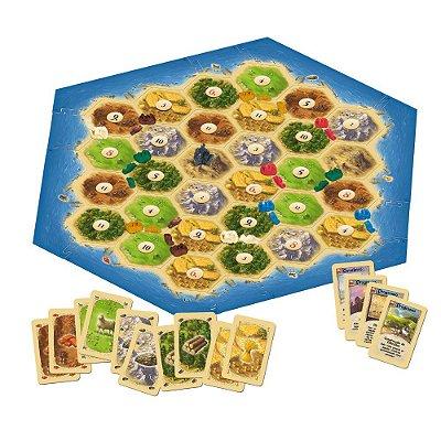 Colonizadores de Catan - Expansão para 5 ou 6 jogadores