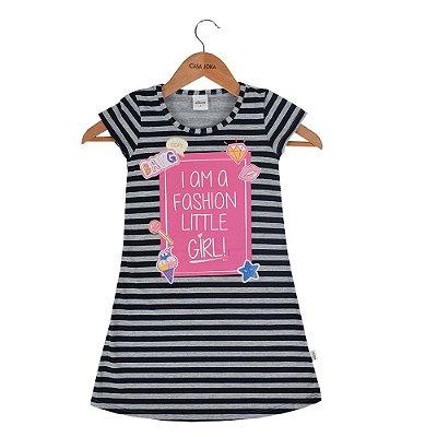 Vestido Infantil Listrado - I Am A Fashion - Elian