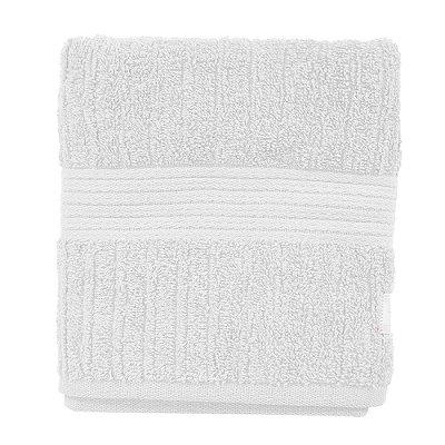 Toalha de Rosto Canelada Fio Penteado - Branco 1011 - Buddemeyer