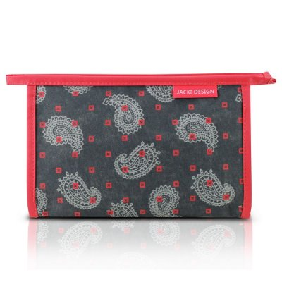 Necessaire Envelope Classic - Coral Abstrata