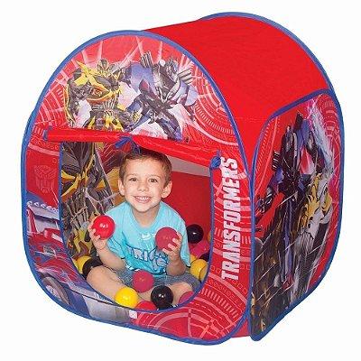 Toca Transformers com Bolinhas - Braskit