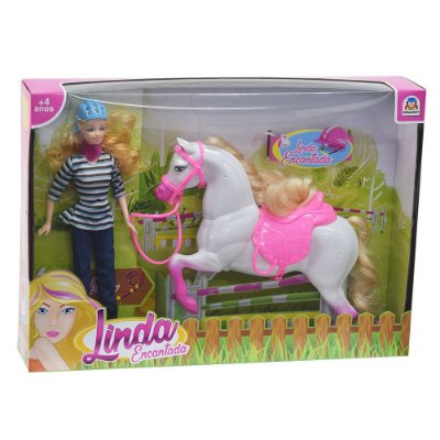 Boneca Linda Encantada - Braskit