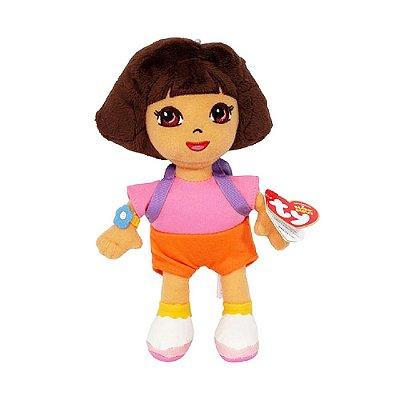 Pelúcia Beanie Babies - Dora Aventureira - DTC