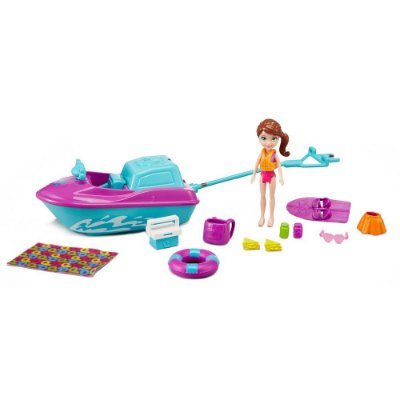 Polly Pocket - Jet Ski de Férias da Polly - Mattel