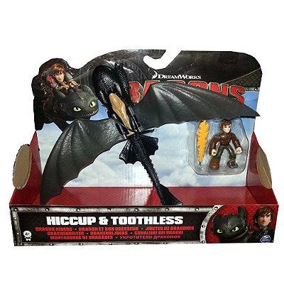 Montadores de Dragões - Hiccup e Toothless- Sunny