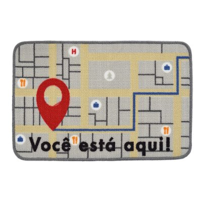 Tapete Multiuso 40 x 60 cm - GPS - Jolitex