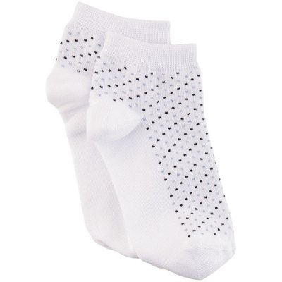 Meia Soquete Feminina Socks Pontinhos - Branca - Lupo