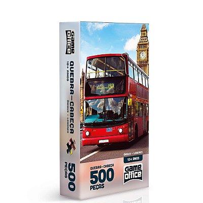 Quebra-Cabeça Ônibus Londres - 500 peças - Toyster
