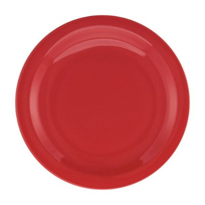 Prato de Sobremesa Red Vermelho - 20cm - Oxford