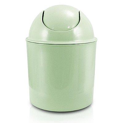 Lixeira Tampa Basculante 1,5L - Verde - Jacki Design