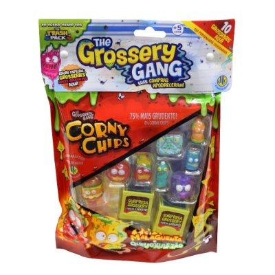 The Grossery Gang - Corny Chips - 10 personagens - DTC