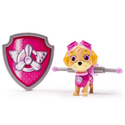 Boneca Skye Kit Secreto com Distintivo - Patrulha Canina - Sunny