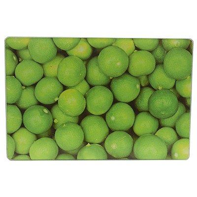 Tábua de Vidro Limão - 20 x 30 cm - Dynasty