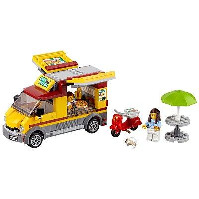 Lego City - Van de Entrega de Pizzas