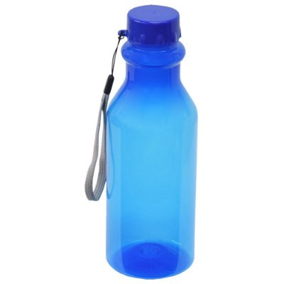 Garrafa Retrô - 500 ml - Azul - Plasútil