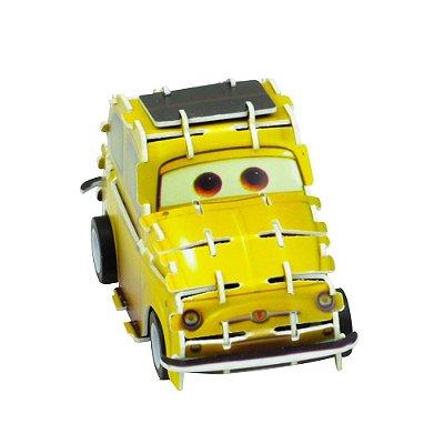 Quebra-Cabeça 3D - Carros - Luigi - DTC