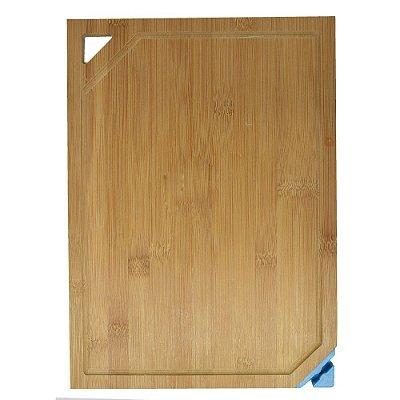Tábua de Corte em Bambu com Afiador de Faca - Mor