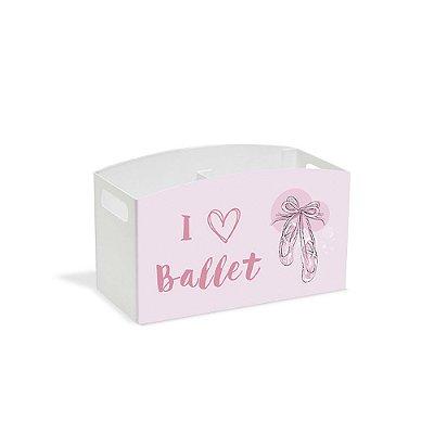 Porta Controle Remoto I Love Ballet - Geguton