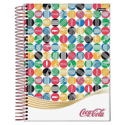 Caderno Coca-Cola - Etiquetas - 10 matérias