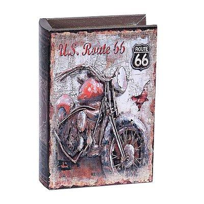 Caixa Decorativa Livro Motocicleta Média - Mart