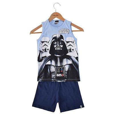 Pijama Infantil Star Wars Regata - Malwee