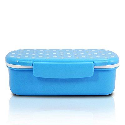 Marmita Poá Pequena - Azul - Jacki Design