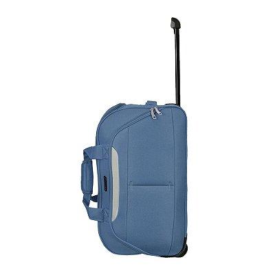 Sacola de Viagem Média Azul - Santino