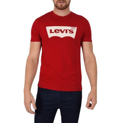 Camiseta Levis Originals Vermelha - Levis