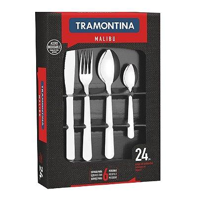 Conjunto de Talheres Malibu - 24 peças - Tramontina