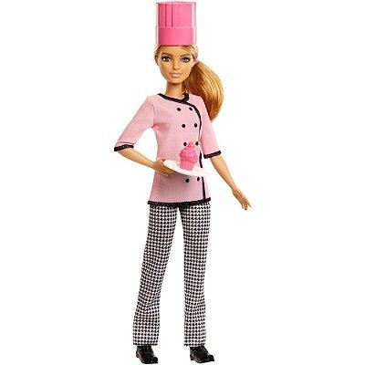 Boneca Barbie Profissiões - Confeiteira - Mattel