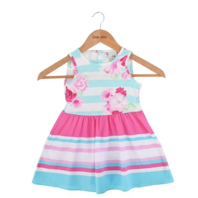 Vestido Floral Charme - Malwee