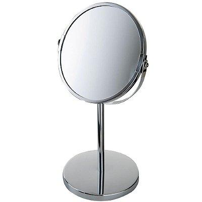 Espelho de Aumento para Mesa - Dupla Face - Mor