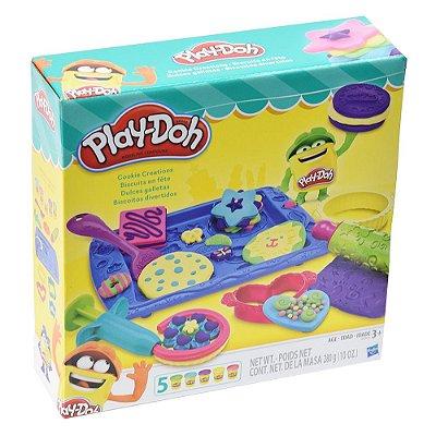 Conjunto Play-Doh Biscoitos Divertidos - Hasbro