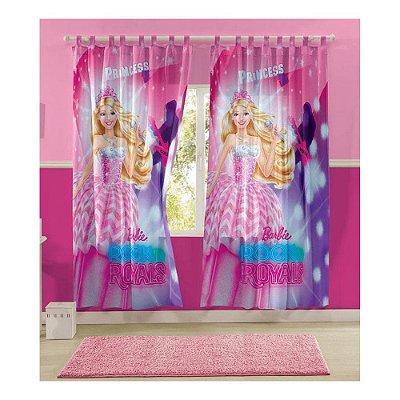 Cortina para Varão - Barbie Rock'n Royals - 2 Peças - Lepper Kids