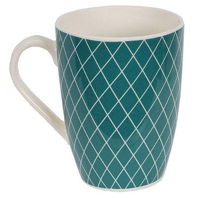 Caneca de Cerâmica Losangos - Yoi