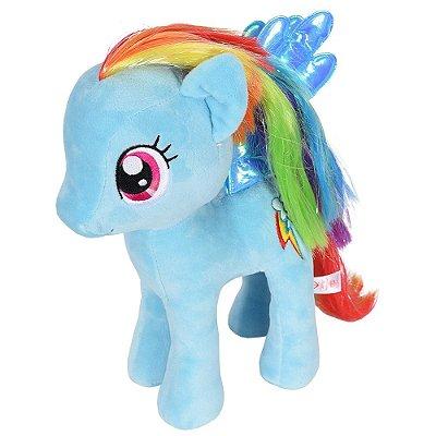 Pelúcia Beanie Buddies My Little Pony - Rainbow Dash - DTC