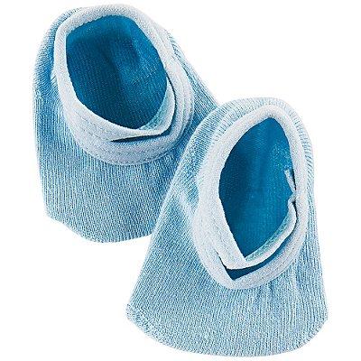 Meia Sapatilha Baby com Elástico - Azul - Lupo